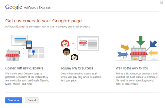 Google+ Page Ads Being Rolled Out
