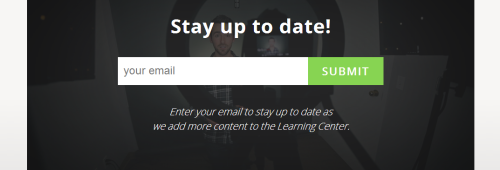 wistia learning center email form