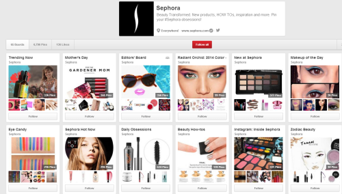Sephora on Pinterest