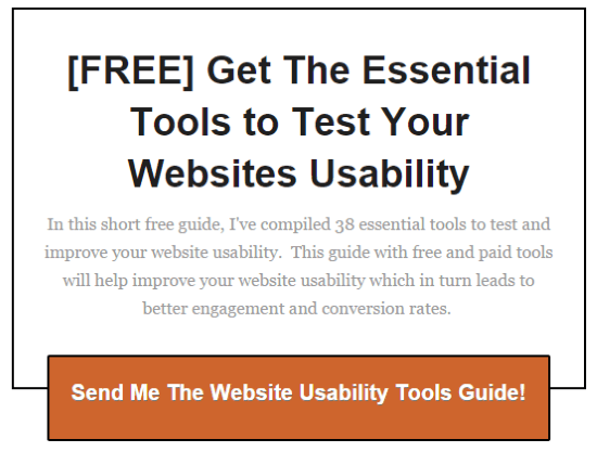 tools to test website usability