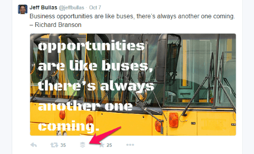 add images for twitter with Buffer