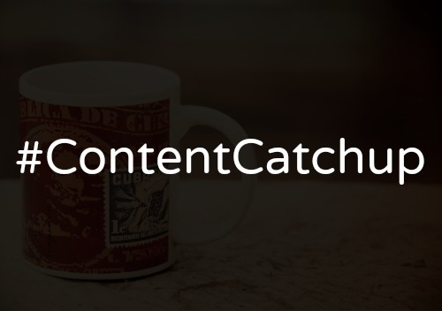 #ContentCatchup: Visual Social Media Content and SEO Trends