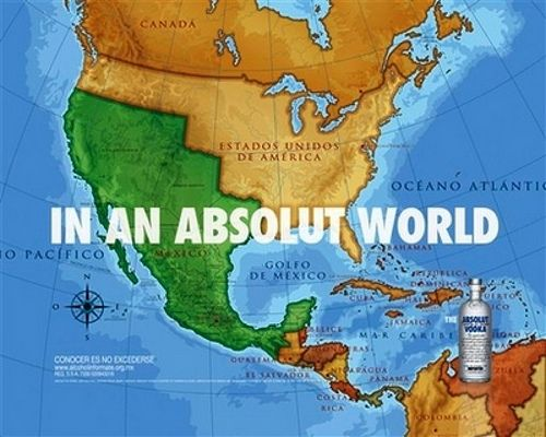 humor in marketing - absolut vodka example