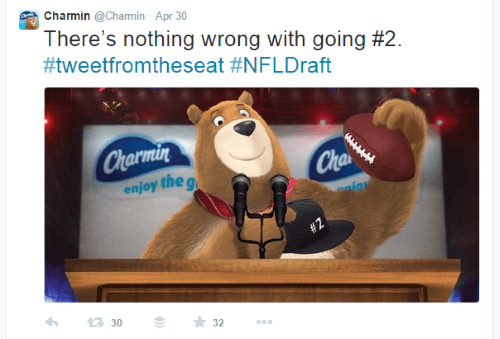 humor in marketing - charmin example