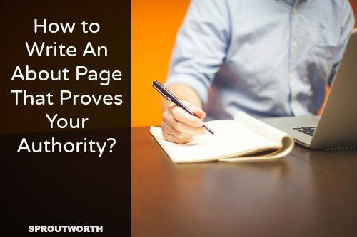 How to Write an Effective About Page in 12 Simple Steps