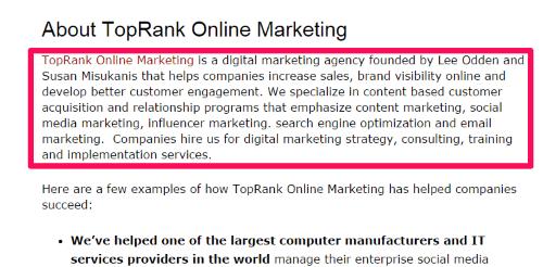 top rank blog