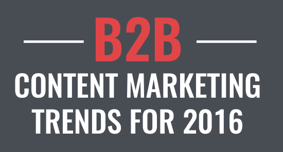 Over 100 B2B Content Marketing Statistics and Trends for 2016