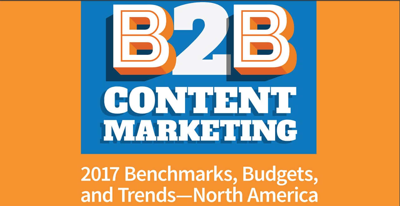 Over 100 Statistics for B2B Content Marketing 2017