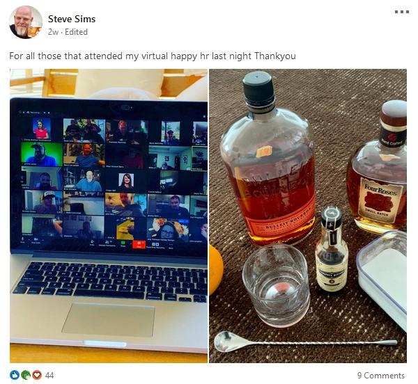 Steve Sims virtual meetup