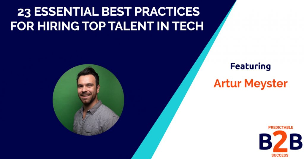 23 Essential Best Practices for Hiring Top Talent in Tech